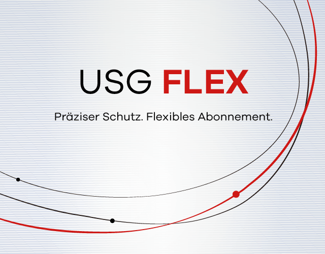 USG FLEX, Precise Protection. Flexible Subscription.