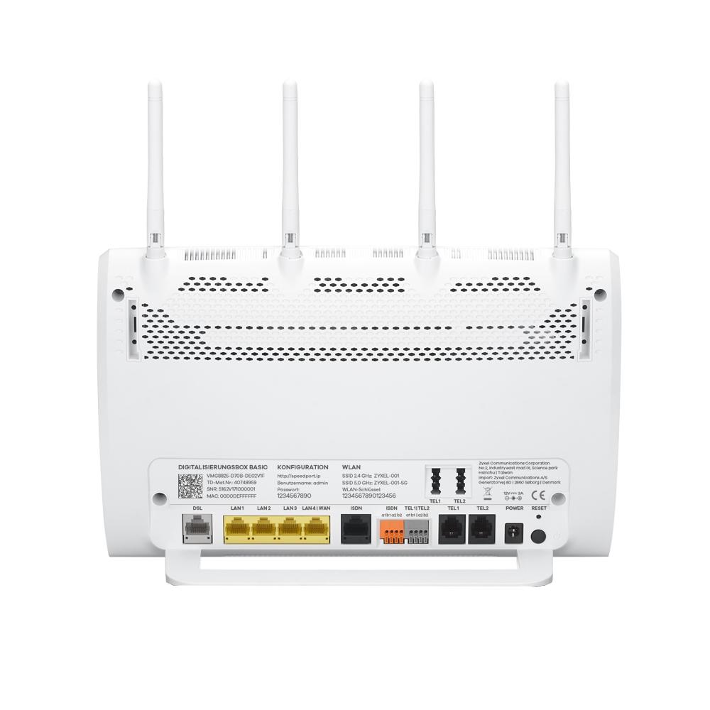 Zyxel Digitalisierungsbox Basic Vmg8825 D70b Router