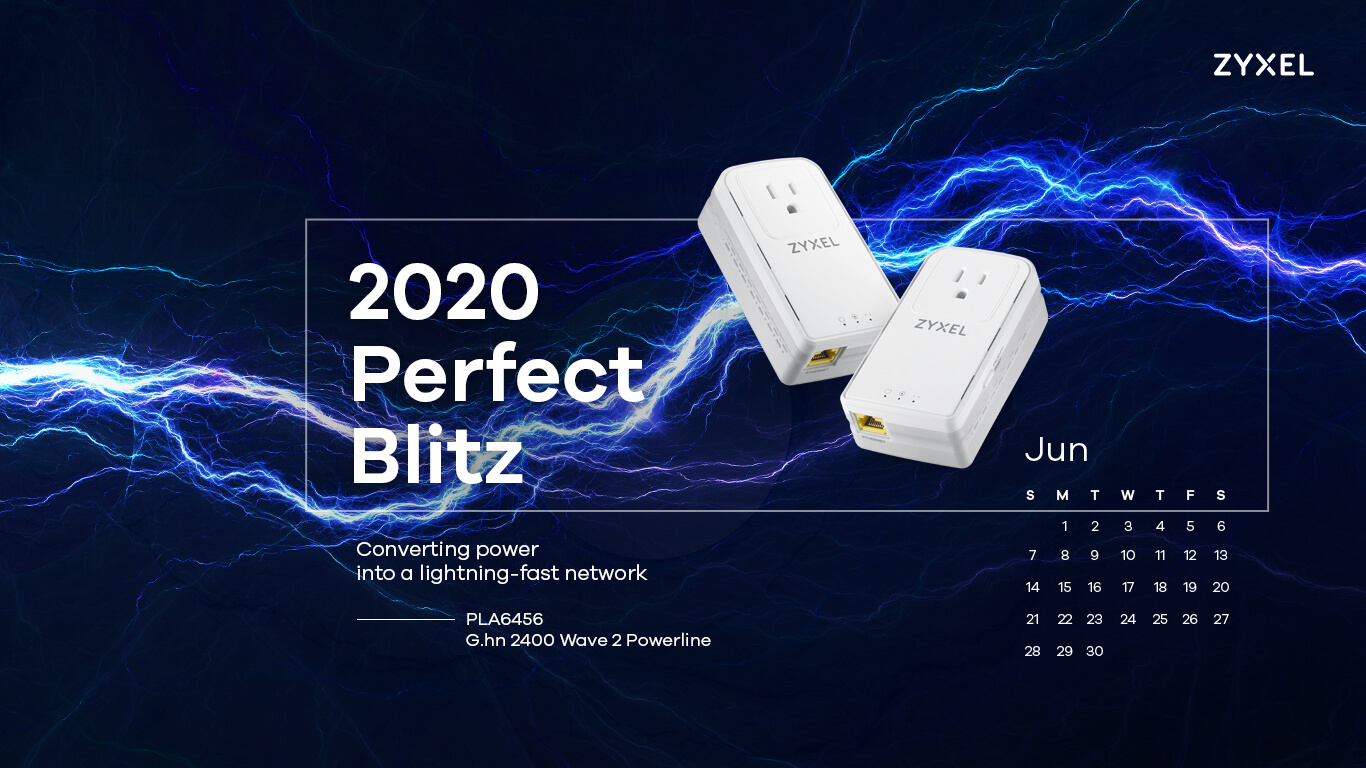Zyxel 2020 Perfect Blitz - PLA6456 G.hn 2400 Wave 2 Powerline