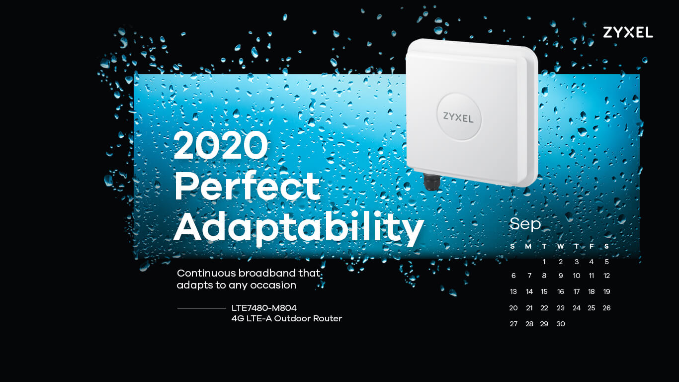 Zyxel 2020 Perfect Adaptability - LTE7480-M804 4G LTE-A Outdoor Router