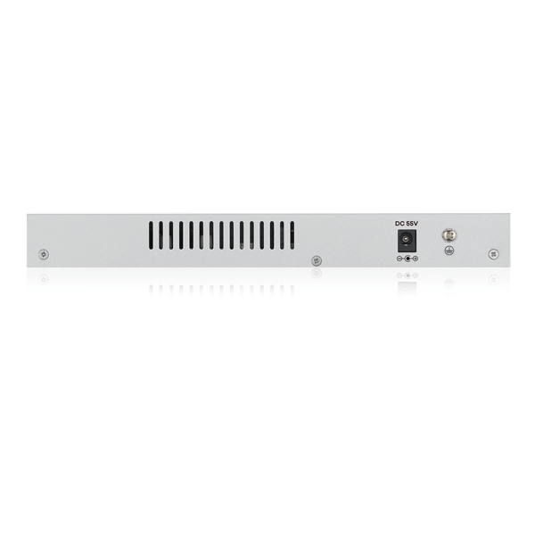 GS1200-8HP v2, 8-Port Web Managed PoE Gigabit Switch