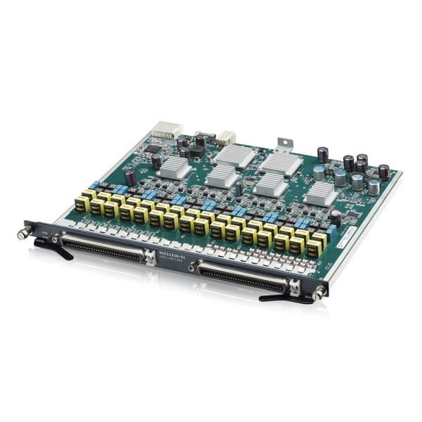 IES4005 Series, 2U Temperature-Hardened 5-slot Chassis Remote MSAN