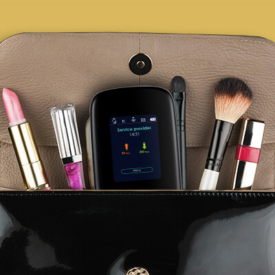 LTE2566-M634, Designed to be at your side wherever you go and can be easily taken in a handbag or a pocket