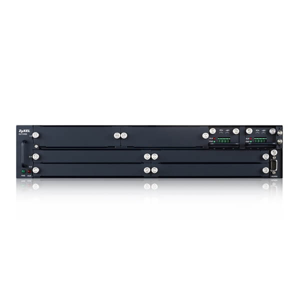 OLT2406 Series, 2U Temperature-Hardened 6-slot Chassis GPON OLT