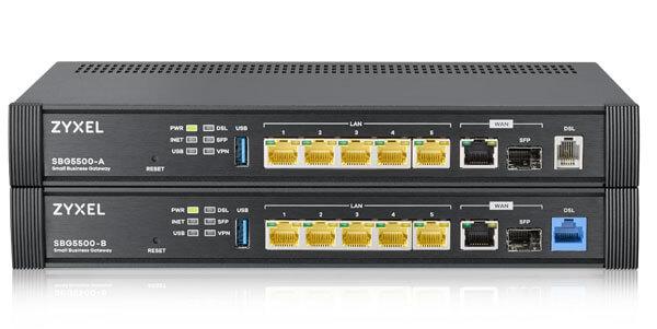 SBG5500 Series Multi-WAN Gigabit VPN Router | Zyxel