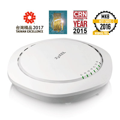 802.11ac Dual Radio Unified Pro Access Point Zyxel WAC6503D-S