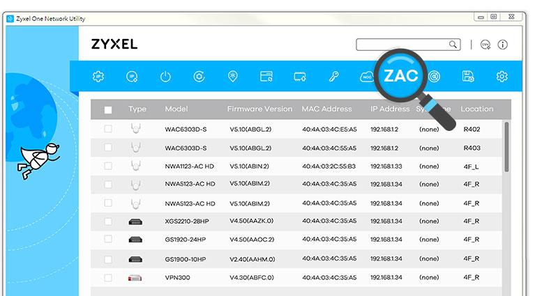 ZON Utility Zyxel ONE Network Utility | Zyxel