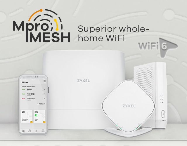 MPro Mesh™ Solutions - Superior whole-home WiFi