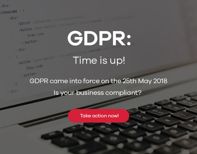 GDPR - The clock is ticking