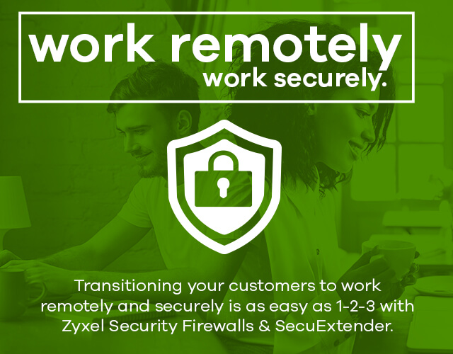 Secuextender Remote Working