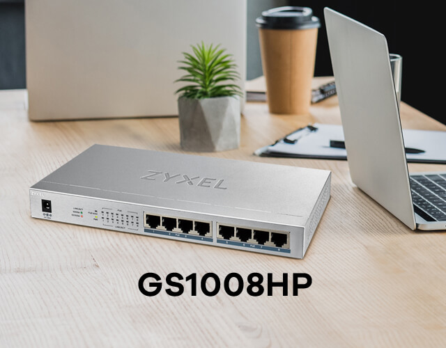 GS1008HP, Empower your connected devices