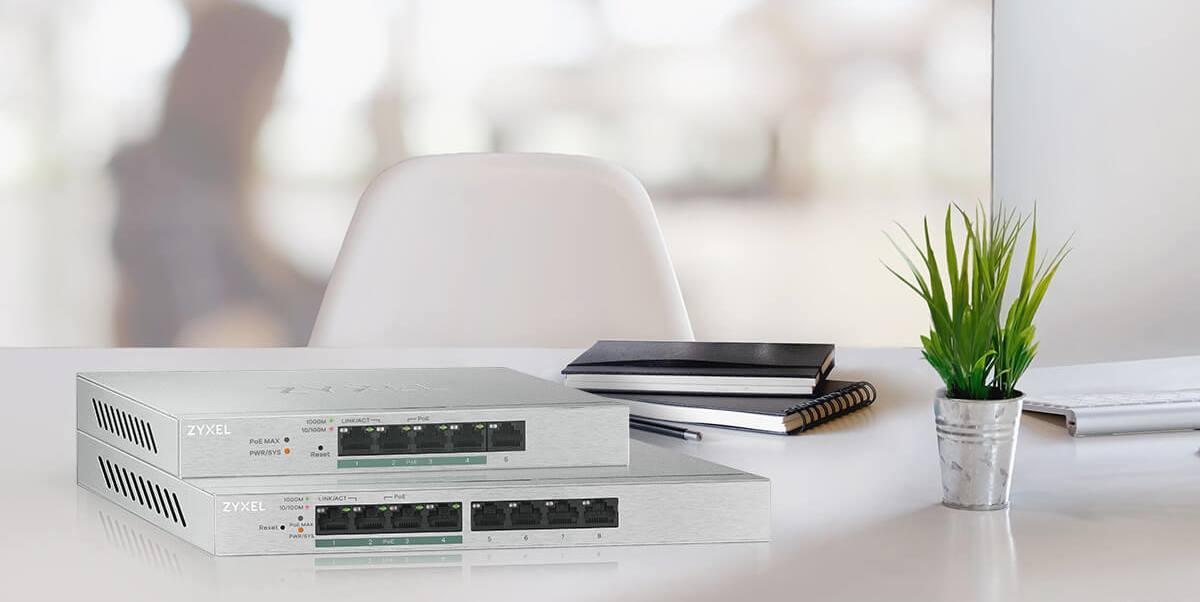 Zyxel Giới  Thiệu Thiết Bị Chuyển Mạch Gigabit Soho GS1200-5HP / 8HP v2 SERIES