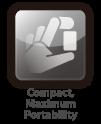 compact maximum portability